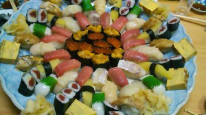 司寿司の寿司