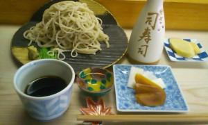 司寿司の久しぶりの手打ち蕎麦